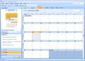 Ouvrir le calendrier dans une fen tre s par e outlook 2007 for Ouvrir plusieurs fenetre excel