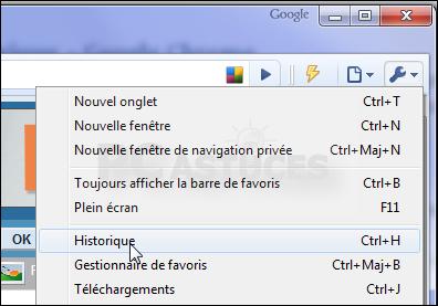 Comment Trouver L Historique Google Chrome