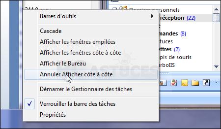 Pc astuces afficher toutes les fentres l 39 cran windows 7 - Afficher le bureau windows 7 ...
