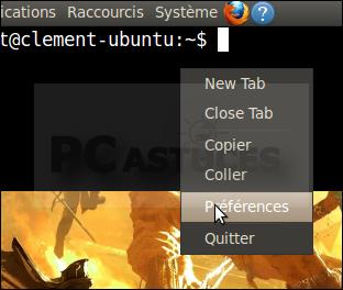 Lancer le terminal d'une touche - Linux Ubuntu 10.04 2958-10