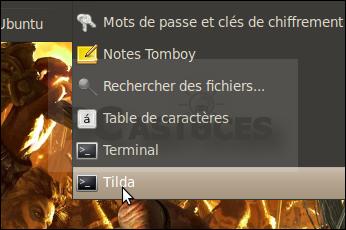 Lancer le terminal d'une touche - Linux Ubuntu 10.04 2958-6