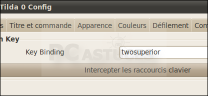 Lancer le terminal d'une touche - Linux Ubuntu 10.04 2958-7