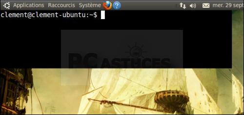 Lancer le terminal d'une touche - Linux Ubuntu 10.04 2958-9