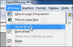 Ins rer rapidement des caract res sp ciaux openoffice writer - Open office writer gratuit ...