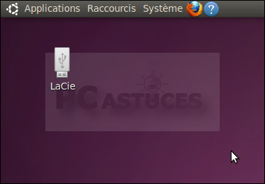 pc astuces masquer les icnes des disques amovibles du bureau linux ubuntu 10. Black Bedroom Furniture Sets. Home Design Ideas