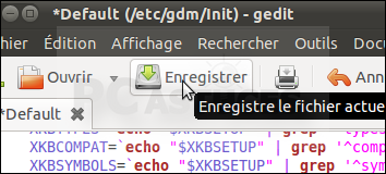 Activer le pavé numérique au démarrage - Linux Ubuntu 10.10 3006-10
