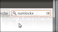 Activer le pavé numérique au démarrage - Linux Ubuntu 10.10 3006-2