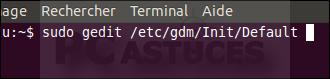 Activer le pavé numérique au démarrage - Linux Ubuntu 10.10 3006-7