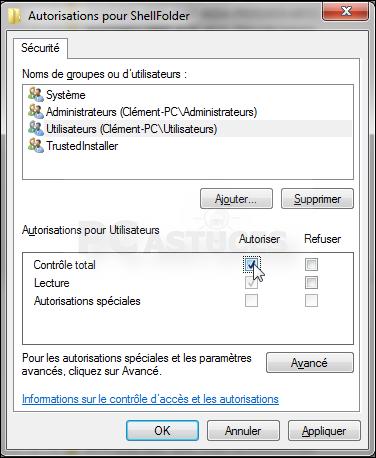 Masquer le groupe r sidentiel dans le volet de l for Fenetre explorateur windows 7