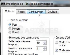 Agrandir la fen tre d 39 invite de commandes windows toutes for Fenetre de commande