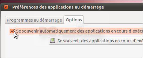 Retrouver les logiciels ouverts au démarrage suivant - Linux Ubuntu 3120-4
