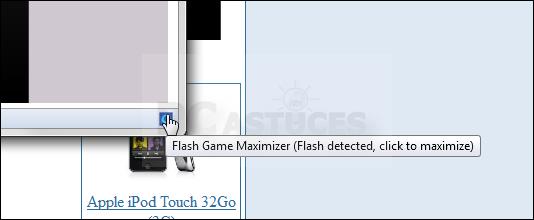 Partage n importe quoi ouvrir les jeux flash en plein for Ouvrir fenetre plein ecran