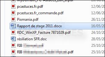 Trouver un fichier rapidement 2