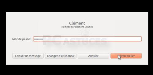 Verrouiller son ordinateur en cas d'absence - Linux Ubuntu 3152-2