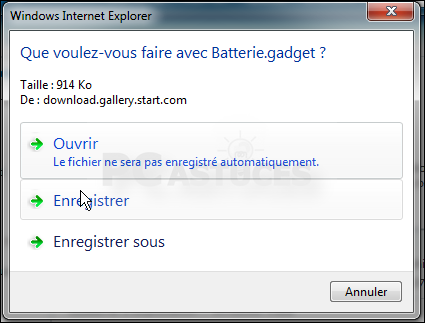 Pc astuces afficher la jauge de la batterie sur le for Windows 7 bureau vide