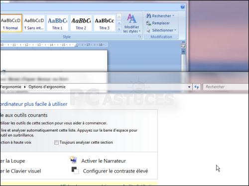 Activer les fen tres dans cliquer windows 7 jasmo for Fenetre windows 7