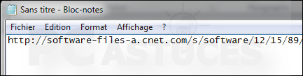 R�cup�rer l'URL t�l�chargement d'un fichier