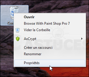 Ne plus passer par la corbeille windows 7 jasmo for Fenetre qui s ouvre pas