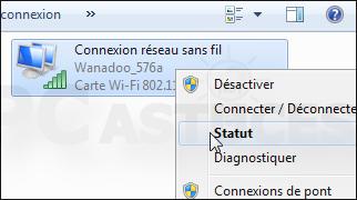 Retrouver WiFi depuis machine connectée
