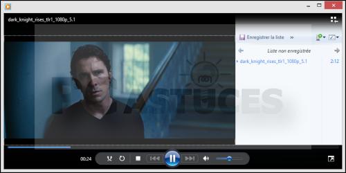 Lire des fichiers vidéos MKV avec Windows Media Player 3628-7