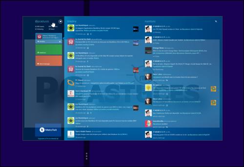 Pc astuces afficher simultanment des applications de l for Bureau windows 8