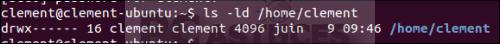 Empêcher les autres utilisateurs d'accéder à votre dossier personnel - Linux Ubuntu 14.04 4097-4