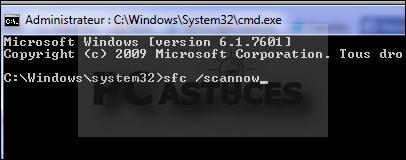 Restaurer les fichiers systèmes manquants ou endommagés - Windows 7 et 8.1 4196-2