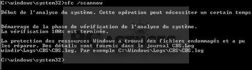 Restaurer les fichiers systèmes manquants ou endommagés - Windows 7 et 8.1 4196-3
