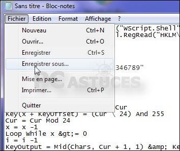 Retrouver sa clé produit de Windows - Windows toutes versions 4279-3