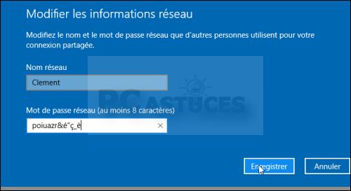 """Dans Windows 10, si cette option n'apparaît pas dans l'interface du centre réseau et partage, vous pouvez y accéder en cliquant sur le menu """"Démarrer"""" →""""Paramètres"""" →""""Wifi"""" ou """"Ethernet""""→""""Groupement résidentiel"""""""