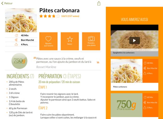 750 grammes pc astuces for 750grammes com fiche de cuisine