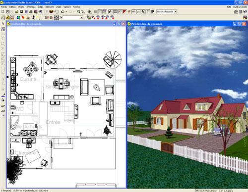 Pc astuces test logiciel architecte studio expert 2006 - Logiciel architecte gratuit ...