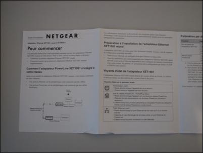 pas de lecteur cd installation routeur netgear