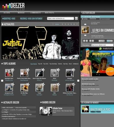 Ecouter gratuitement de la musique avec Deezer