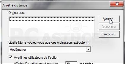 Eteindre ou redémarrer un ordinateur à distance Distance_shutdown_10