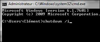 Eteindre ou redémarrer un ordinateur à distance Distance_shutdown_22