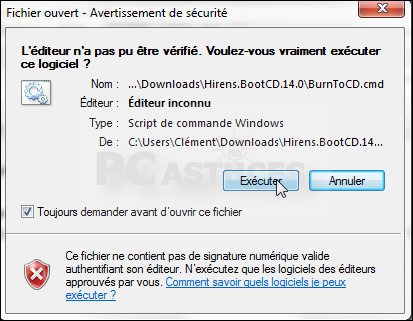 Utiliser Hiren S Bootcd Pour Restaurer Windows