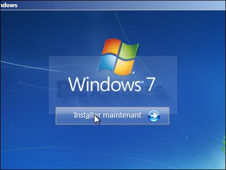 installation de windows 7 sur ssdd