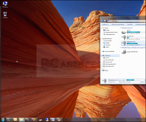Pc astuces am liorer les raccourcis de windows 7 for Fenetre windows 7