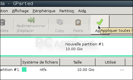 Blog informatique r parer un disque dur pass en raw - Reparer table de partition disque dur ...