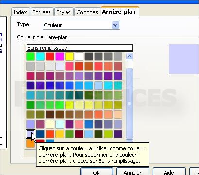 Pc astuces cr er une table des mati res pour un document - Comment mettre une photo en arriere plan sur open office ...