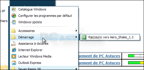 Pc astuces transformer windows xp et vista en windows 7 for Ouvrir fenetre dos windows 7