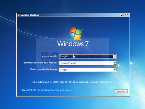 Comment installer windows7 sur l 39 ordinateur la r ponse - Comment installer un raccourci sur le bureau ...