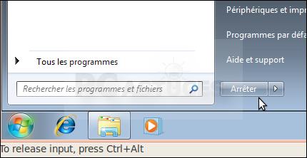 linux mint installer les outils vmware windows