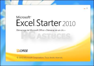 Pc astuces word et excel gratuits - Office starter telecharger ...