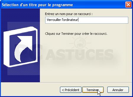 pc astuces verrouiller ordinateur en cas d absence windows xp