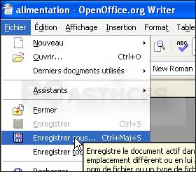 Proteger Un Document Par Un Mot De Passe Openoffice