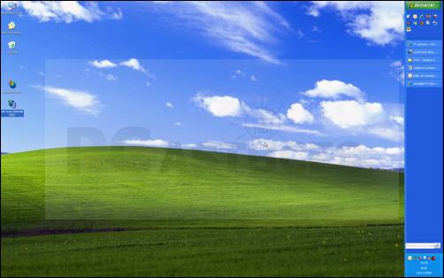 Déplacer la barre des tâches windows xp