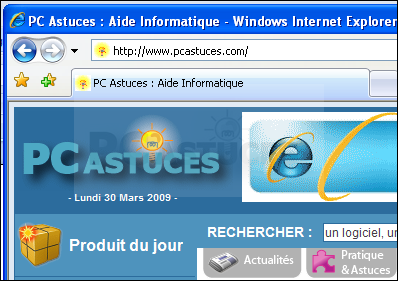 Placer un raccourci vers un site web sur son bureau - Mettre un raccourci internet sur le bureau ...