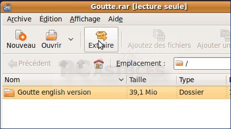 Decompresser Les Fichiers Rar Linux Ubuntu